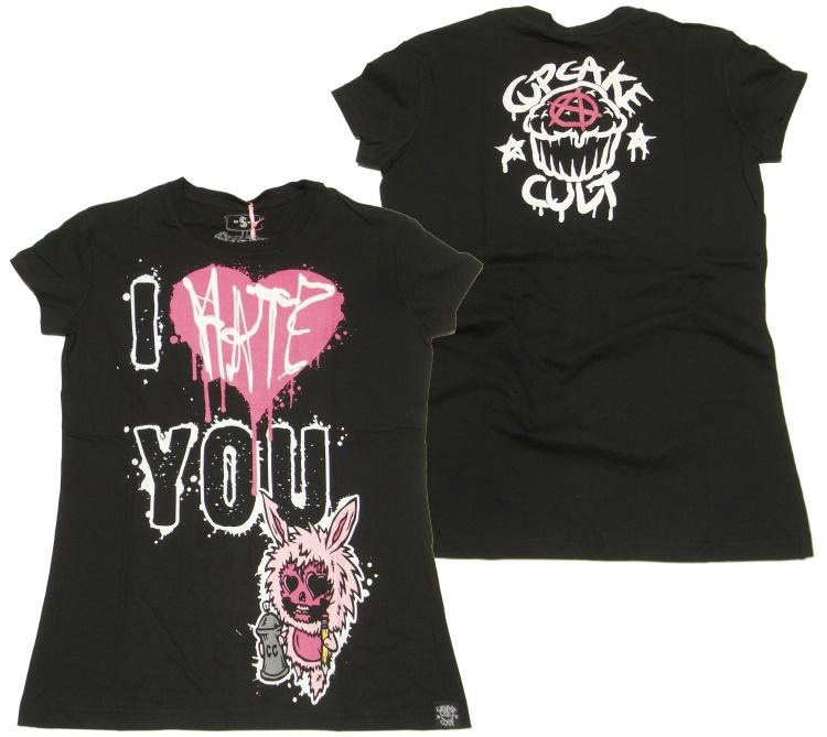 Girlshirt Evil Clothing Cupcake Cult