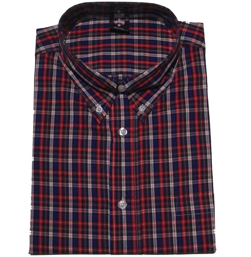 Warrior Clothing Hemd kurzarm