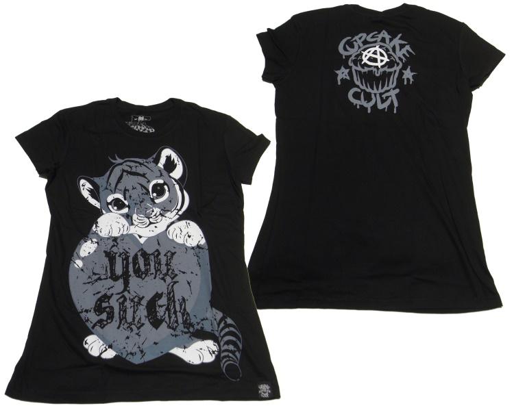 Girl Shirt Comicmotiv Evil Clothing