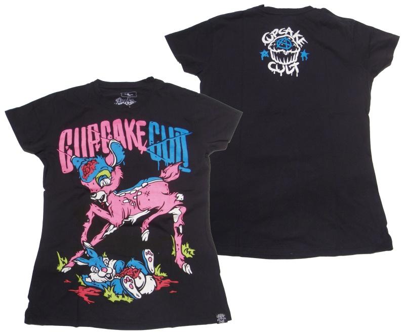 Girl Shirt Bambie Cupcake Cult Evil Clothing