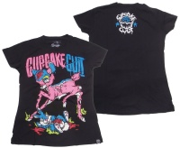 Girl Shirt Bambie Cupcake Cult Evil Clothing