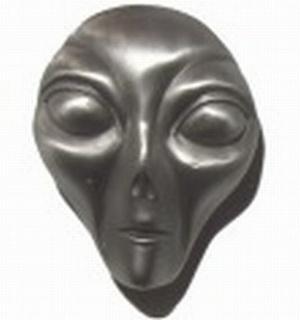 G�rtelschnalle Alien