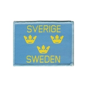 Aufnäher Sverige Sweden