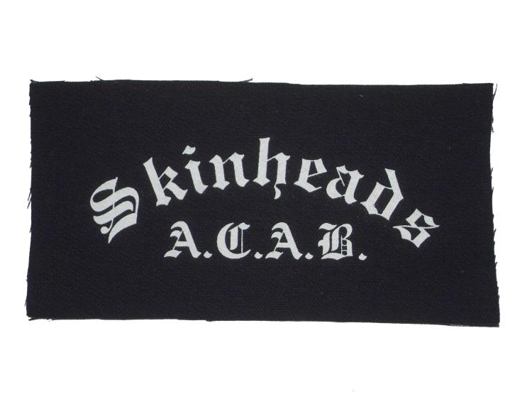Aufnäher Skinheads A.C.A.B.