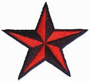 Aufnäher Nautical Star