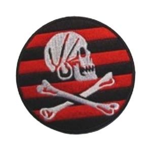 Aufnäher Pirat Totenkopf