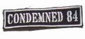 Aufnäher Condemned 84