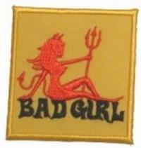 Aufnäher Bad Girl