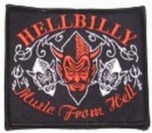 Aufnäher Hellbilly
