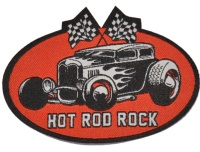 Aufnäher Hot Rod Rock