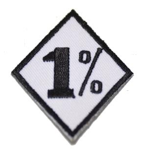 Aufnäher 1%