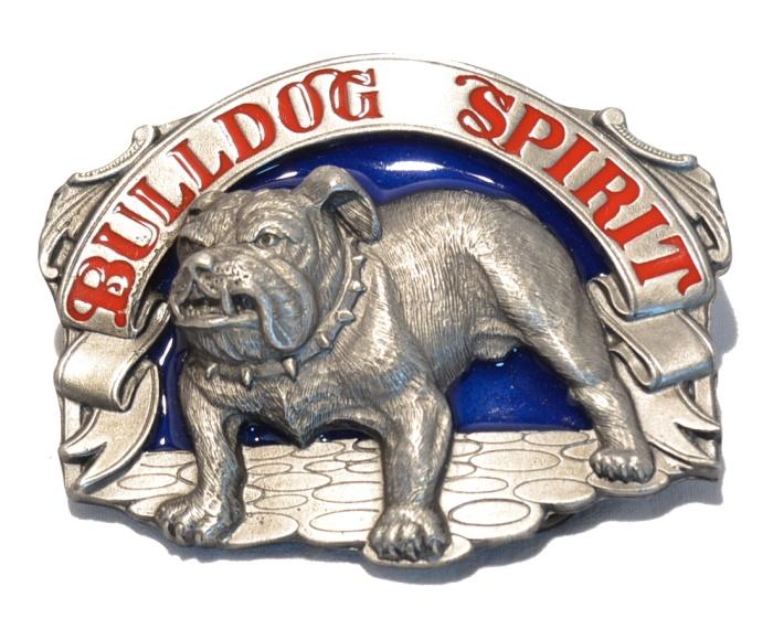 G�rtelschnalle Bulldog Spirit