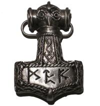 Gürtelschnalle Thorhammer