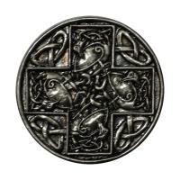 Gürtelschnalle Kreuz keltisch