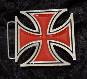 Gürtelschnalle Belt Buckle Iron Cross