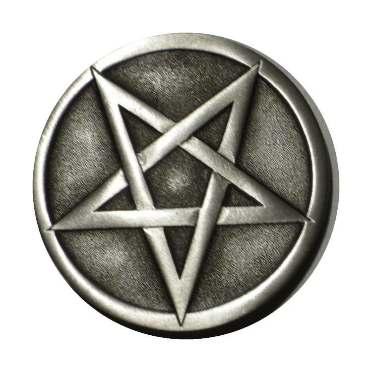 G�rtelschnalle Pentagramm