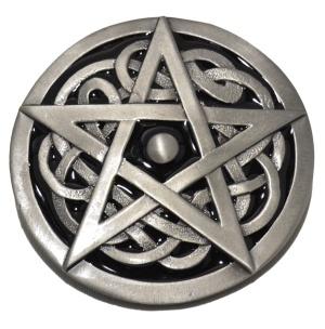 Gürtelschnalle Celtic Pentagramm