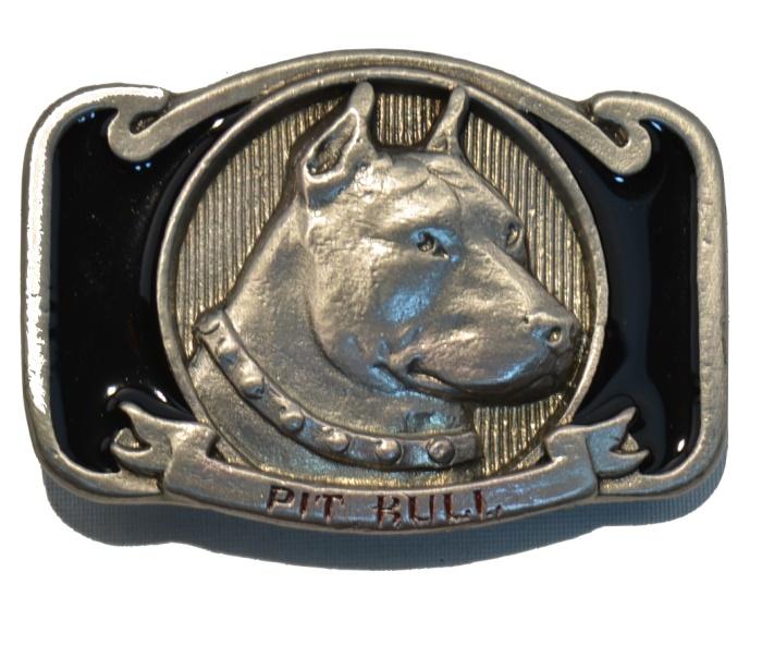G�rtelschnalle Pit Bull