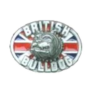 Gürtelschnalle British Bulldog