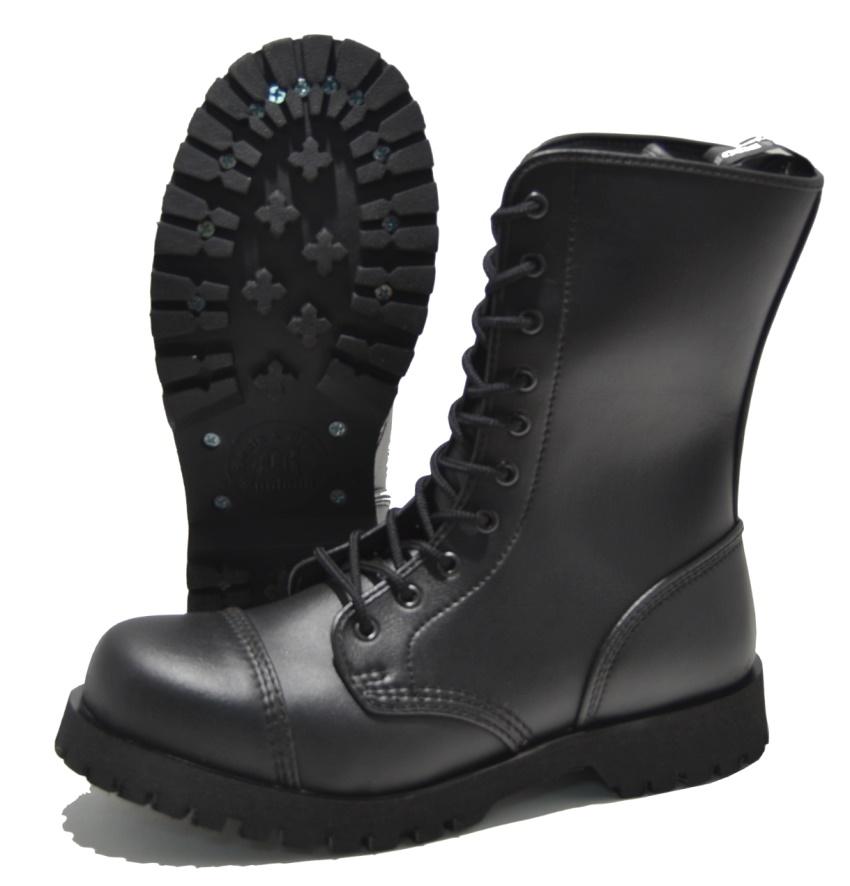 Boots & Braces 10-Loch mit Stahlkappe