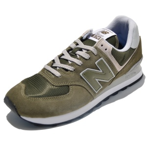 New Balance Laufschuhe ML574EGO in Farbe olivgrün