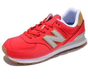 New Balance Laufschuhe ML574YLA in Farbe Rot