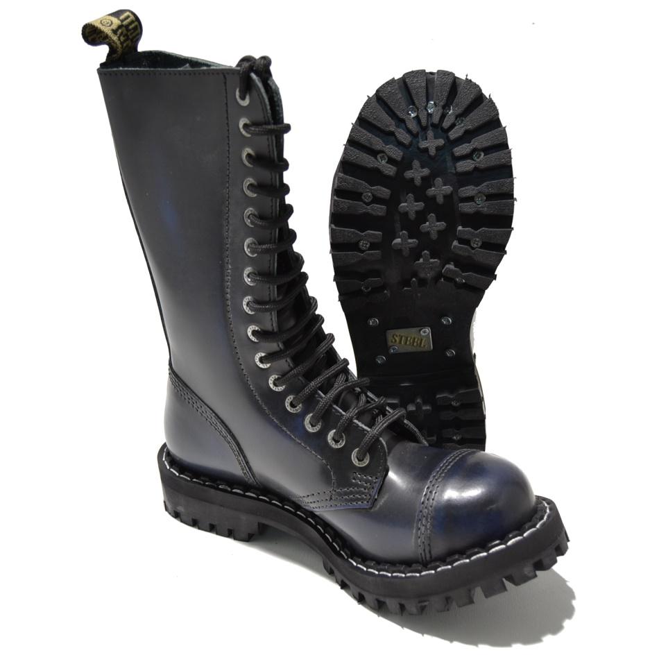 Steel 15 Loch Boots