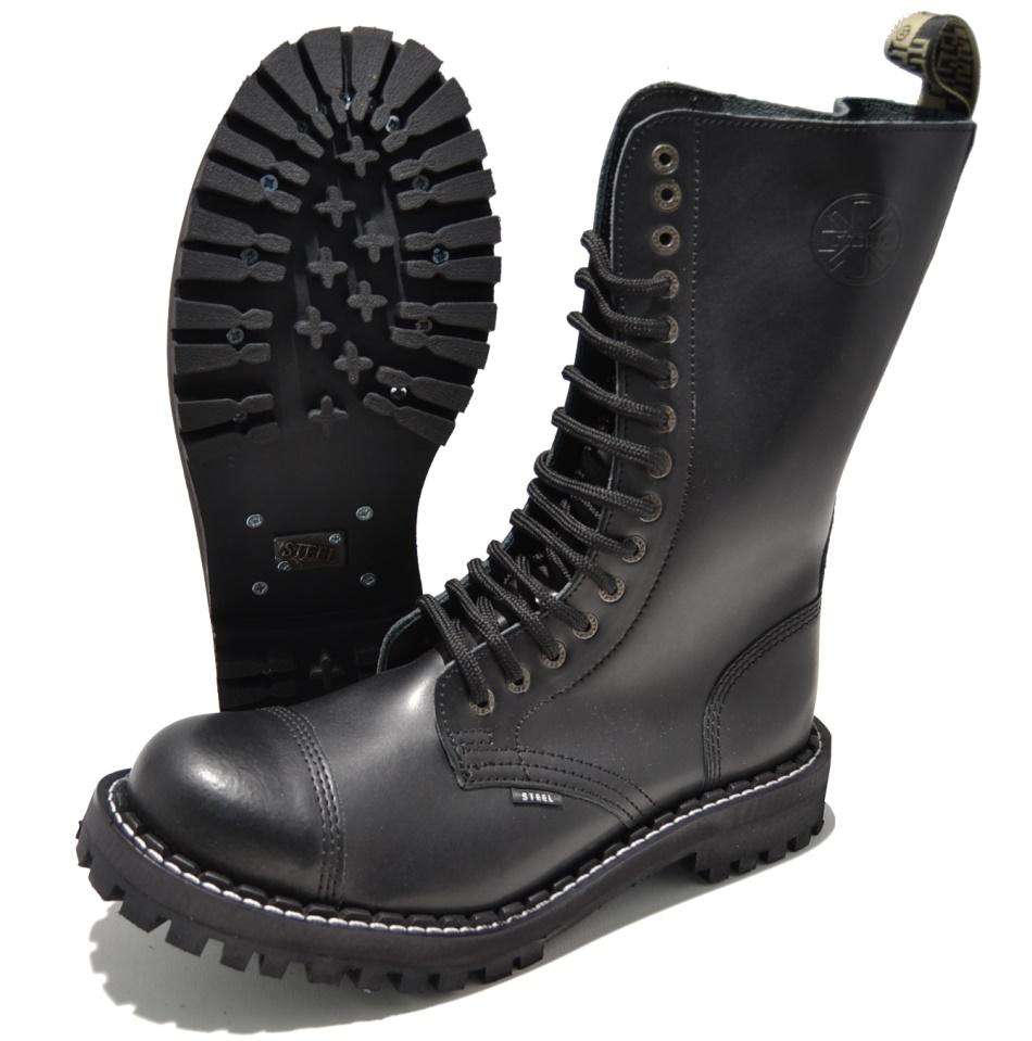 Steel 15Loch Boots