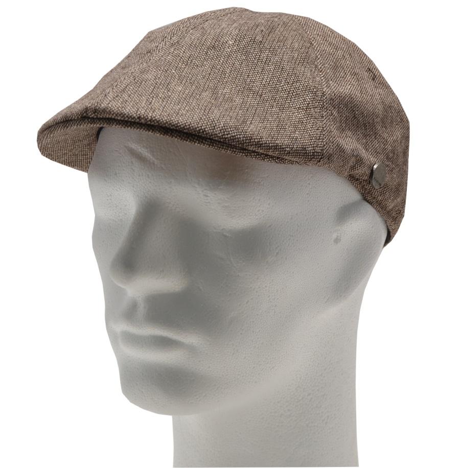 Firetrap Gatsby Hat Tweed Sand