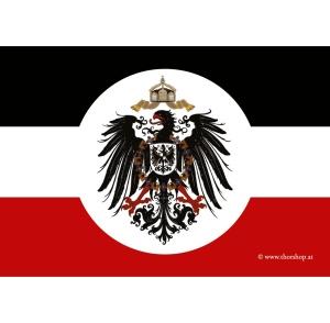 Aufkleber Deutsches Kaiserreich mit Adler