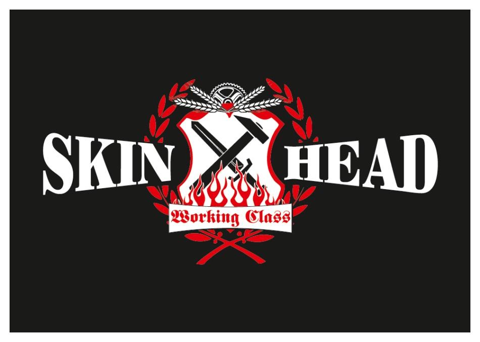 Aufkleber Skinhead Working Class