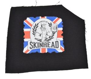 Aufnäher Skinhead Union Jack K34