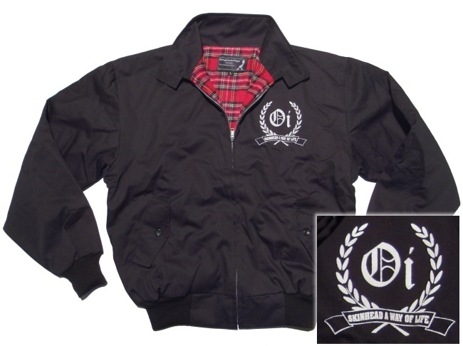 Harrington Style Jacke Oi Skinhead A Way Of Life