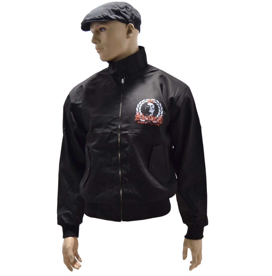 Harrington Jacke Oi Skinhead proud & strong