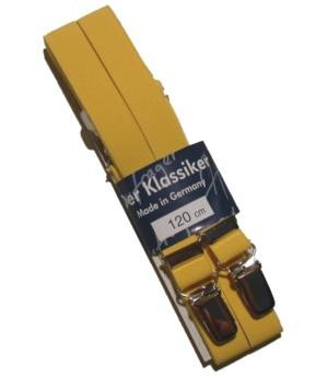 einfarbige schmale Hosenträger Made in Germany