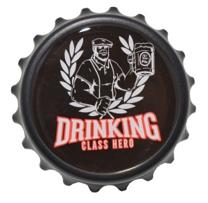 Kapselheber/Flaschenöffner Drinking Class Hero
