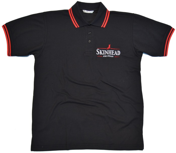 Polo-Shirt Skinhead And Proud