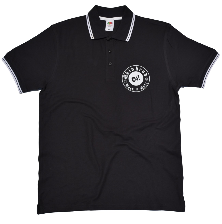 Poloshirt oi skinhead rock n roll k13 skinhead shop t for Kleiner schrank weiay
