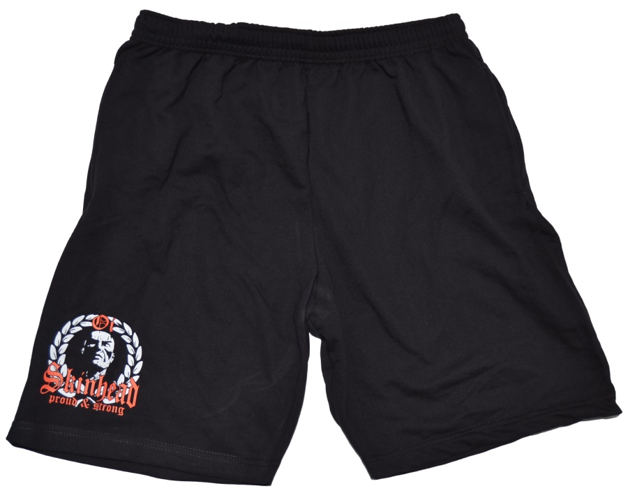Joggingshort Oi Skinhead proud strong