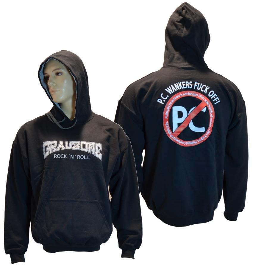 Kapuzensweatshirt Grauzone RocknRoll