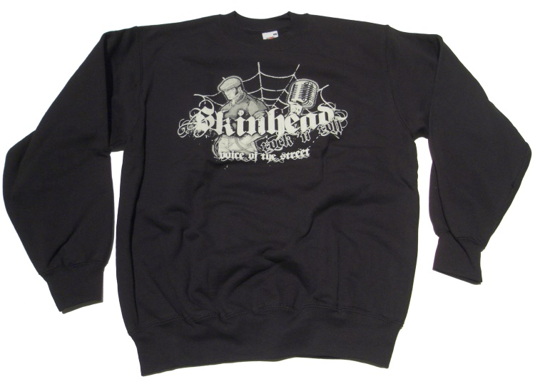 Sweatshirt Skinhead Rock N Roll