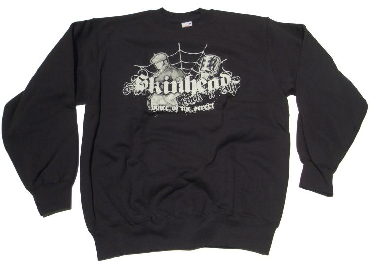Sweatshirt Skinhead Rock N Roll