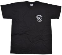 T-Shirt Skinheads Oi! Parole Spass kleines Logo K8
