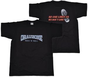 T-Shirt Grauzone RocknRoll Style II G52 G508