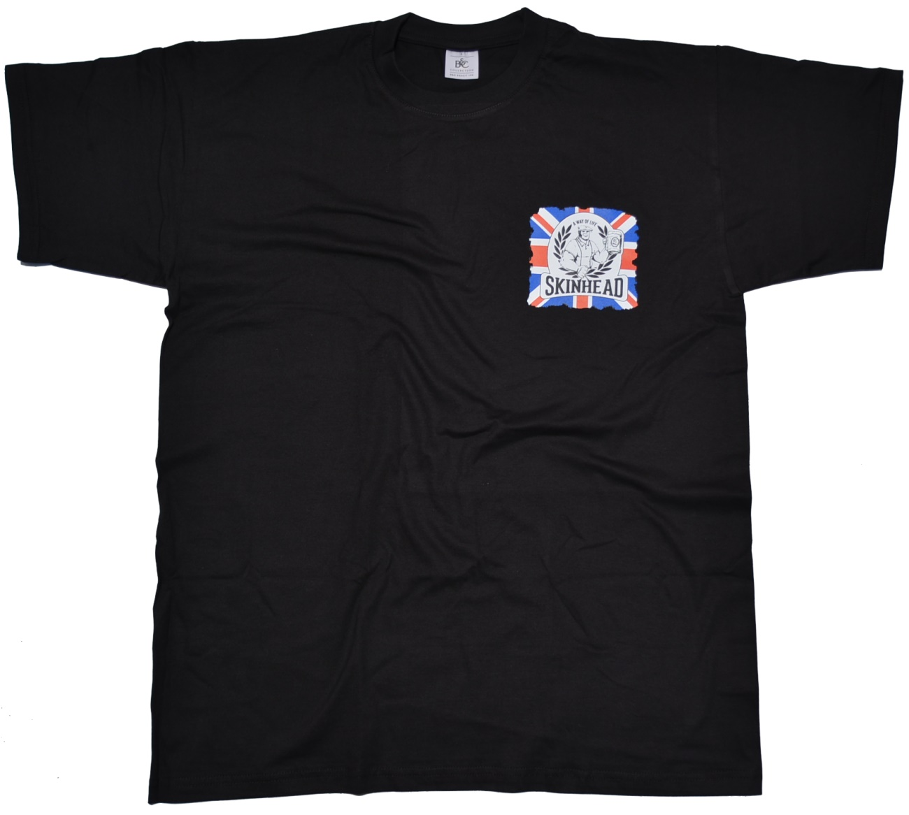 T shirt skinhead a way of life union jack k34 skinhead for Kleiner schrank weiay