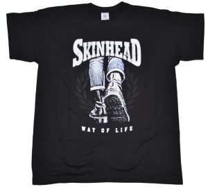 T-Shirt Skinhead Way Of Life / Boots