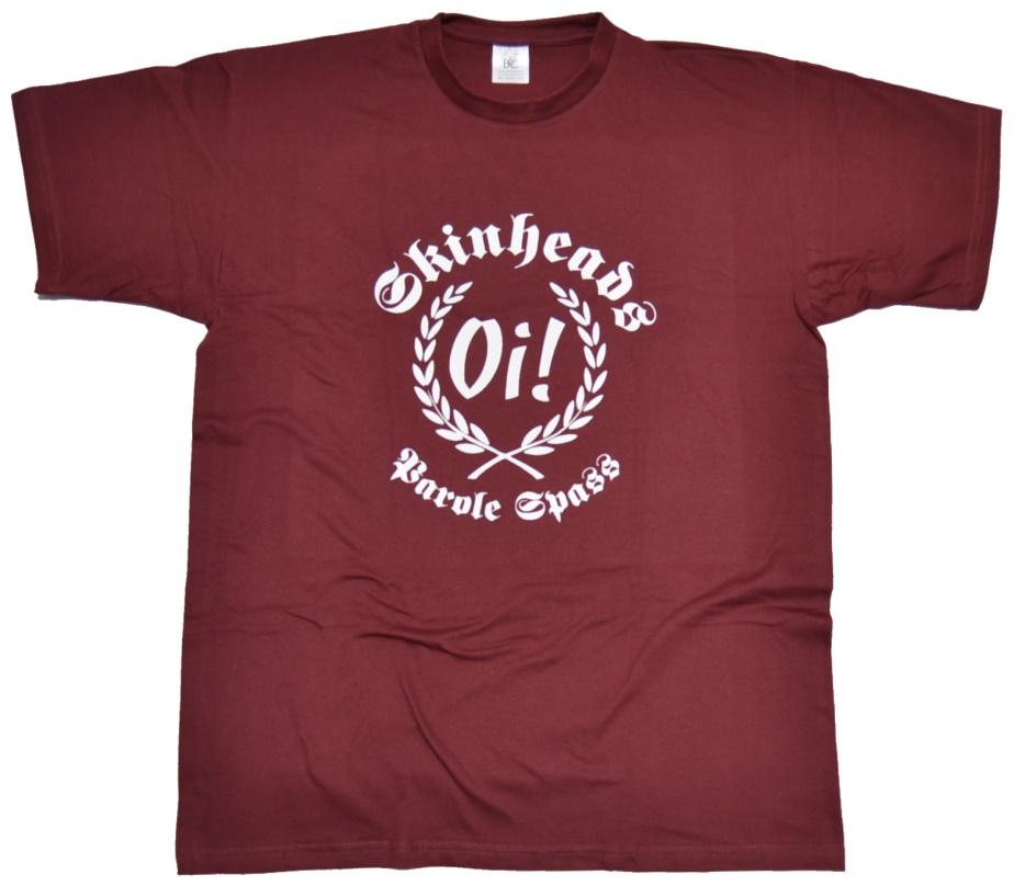T-Shirt Oi! Parole Spass