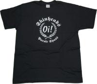 T-Shirt Skinheads Oi! Parole Spass G501