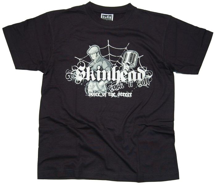 T-Shirt Skinhead Rock N Roll
