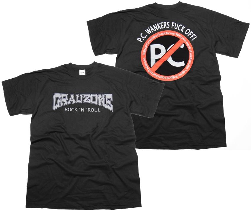 T-Shirt Grauzone RocknRoll